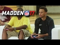 Stephen Curry Plays Madden 17 With Tom Brady! MADDEN 17 GAMEPLAY PARODY