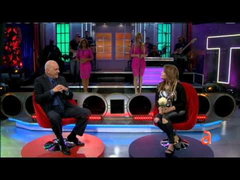 La cantante cubana Dayani Lozano en TN3