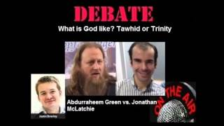 Video: What is God like: Tawhid or Trinity? - Abdurraheem Green vs Jonathan McLatchie