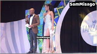 Mtazame Hamisa Mobetto Alivyopendeza Kwenye Fainali za Miss Tanzania 2018 JNICC