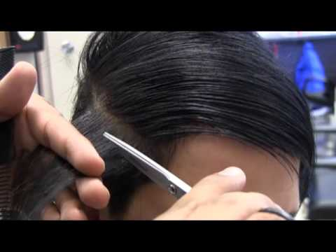 Long hair SHAVED clipper buzz haircut video