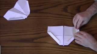 How To Make A Paper Airplane - The Condor