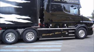 SCANIA V8 TRANSPORTS STH & PHILIPPE MAURIN
