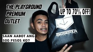 UP TO 70% OFF! | THE PLAYGROUND PREMIUM OUTLET + Q PLAZA SHOE STORES | SAAN AABOT ANG 500 PESOS KO?