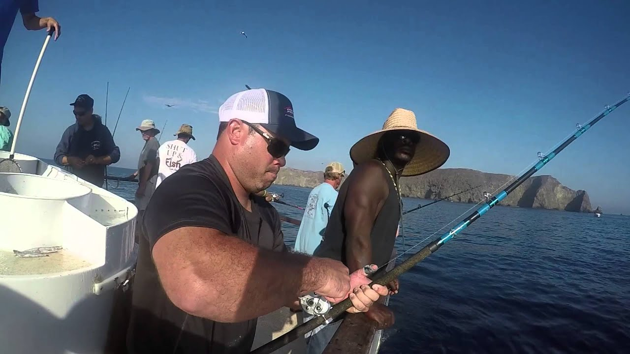 Yellowtail Fishing Anacapa Island on the Aloha Spirit
