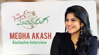 Megha Akash Exclusive Interview about Chal Mohana Ranga Movie | Pawan Kalyan,Nithin, Megha Akash