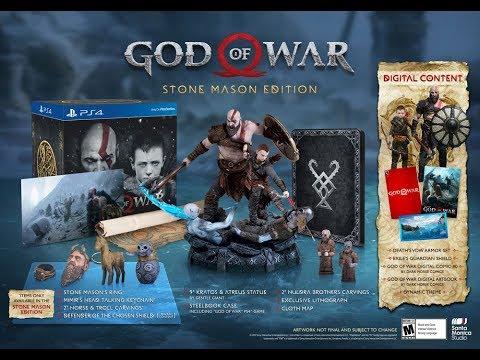 God of war the stone Masson Edition thumbnail