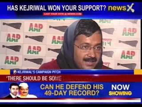 NewsX exclusive interview with Arvind Kejriwal
