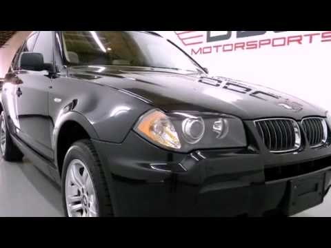 Preowned 2006 BMW X3 AWD Dallas TX 75207