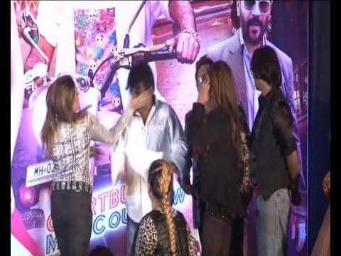 Rakhi Sawant's Friend Slaps Director Sachindra Sharma on Stage