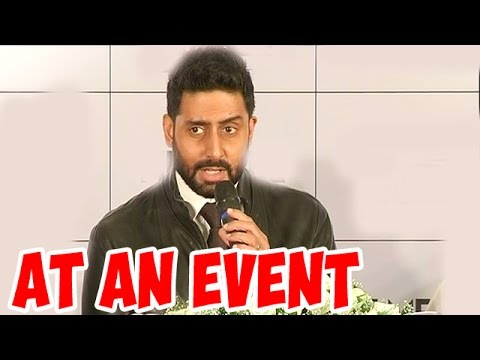 Abhishek Bachchan at an event