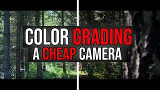 Color Grading Footage From A Cheap Camera | Canon Legria HF R806 / Vixia HF R800 | Average Filmmaker