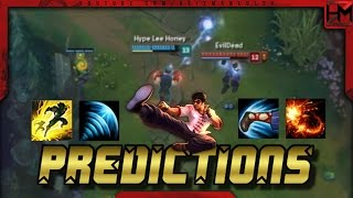 Lee Sin Predictions Montage - Best Lee Sin Predictions | League of Legends