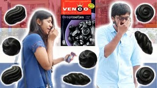 INDIAN PEOPLE TRY DUTCH DROP CANDY | INDIA VS NEDERLAND | TRAVEL VLOG IV