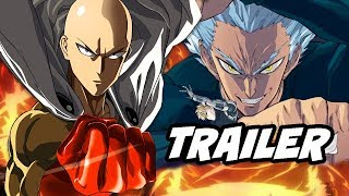 One Punch Man Season 2 Trailer - Saitama vs Garou Ultimate Fight