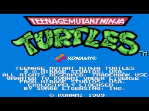 Longplay Teenage Mutant Ninja Turtles (Arcade) - Tartarugas Ninjas - Jogo Completo para Fliperama
