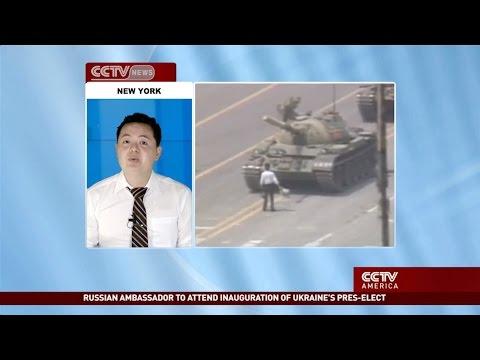2014 Rare CCTV News on 6.4 1989 Tiananmen Massacre 六四天安門特別報導 中國中央電視台
