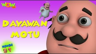 Dayawan Motu - Motu Patlu in Hindi - 3D Animation Cartoon for Kids -As seen on Nickelodeon