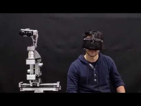 virtual reality technology with robot