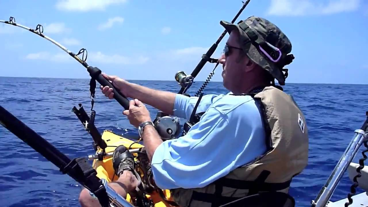 Hobie tandem kayak fishing hawaii i 39 a palua two fishes for Kayak fishing hawaii