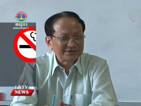 Lao NEWS on LNTV: Tobacco co. to display graphic health warnings on cigarette packets