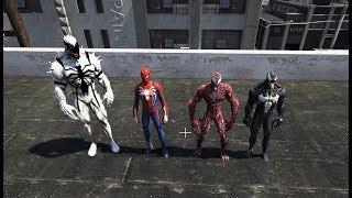 GTA 5 - Sự trở lại của Carnage - Đồng đội Spiderman xuất hiện | GHTG