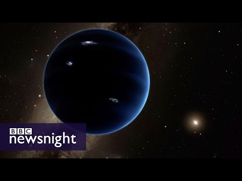Is there a ninth planet? The verdict of Nasa's chief scientist  - BBC Newsnight