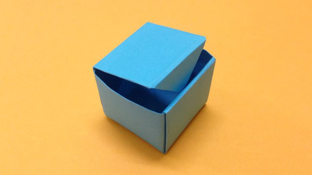 How to make easy origami box