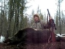 [Russian Boar - Hunting Wild Boar in Michigan with a 30-30 Winch] Video