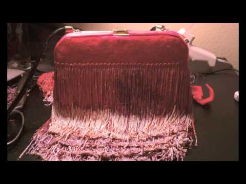 DIY Fringe Cross Body Bag