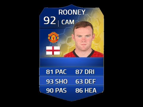 FIFA 14 TOTS ROONEY 92 Player Review & In Game Stats Ultimate Team