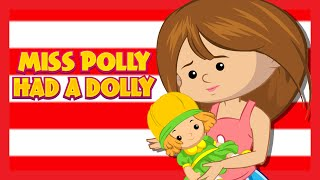 'Miss Polly Had A Dolly' NURSERY RHYMES COLLECTION | Kids Hut