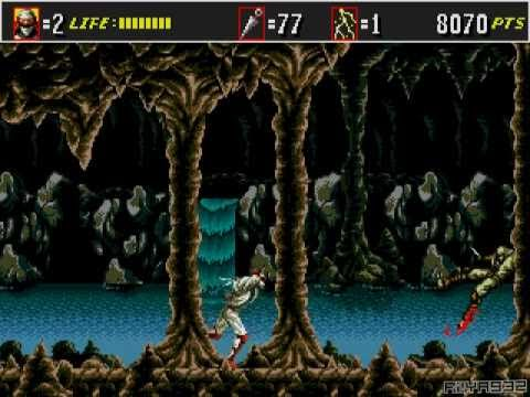 Gameplay Shinobi III: Return of the Ninja Master
