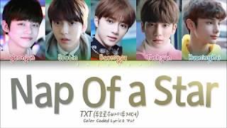 Download Lagu TXT (투모로우바이투게더) - Nap of a Star(별의 낮잠) (Color Coded Lyrics Eng/Rom/Han/가사)</b> Mp3