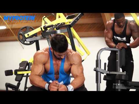 Sergi Constance and Simeon Panda BIG BACK WORKOUT