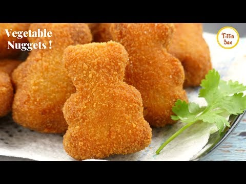 Homemade Veggie Nuggets Recipe for Kids tiffin Box | Mix Vegetable Chop | Vegetable Nuggets Recipe