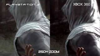 Assassin's Creed -  PS3 vs Xbox 360 Comparison