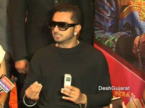 Yo Yo Honey Singh In Ahmedabad Gujarat video
