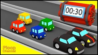 Cartoon Cars - EXPLODING CARS! - Cars cartoons for children
