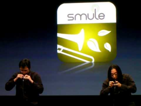 Smule Demonstrates iPhone Software 3.0