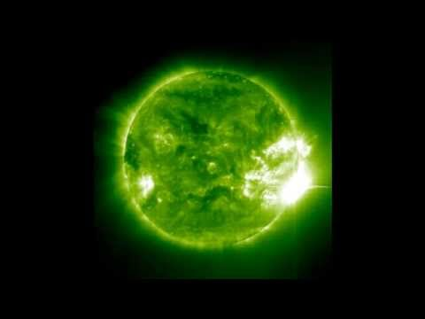 Mega-Flare on November 04, 2003 an X45 Solar Flare! by SOHO [HD 720p .wmv]
