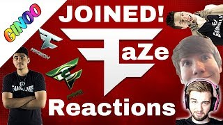 All FaZe Members Reaction's To Joining FaZe