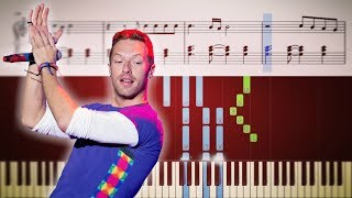 Coldplay  Fix You  EASY Piano Tutorial  Sheets
