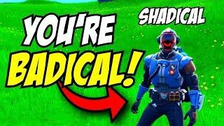 I Annoyed Shadical In Fortnite.. (ENDS BAD)