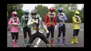 Super Megaforce Vs Gokaiger Silver Ranger Comparison