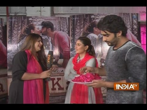IndiaTV Exclusive: Arjun Kapoor & Kareena Kapoor goof around while promoting movie 'Ki & Ka'