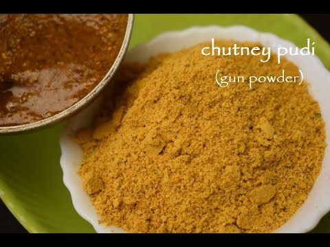 Chutney Pudi Recipe / ಚಟ್ನಿ ಪುಡಿ / Gun Powder for Idli, Dosa, Uttappa Recipes