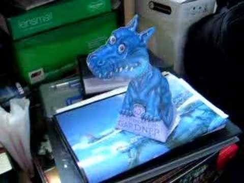 Hollow Face Blue Dragon Illusion