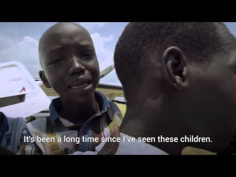 The moment South Sudanese children are reunited with family | UNICEF