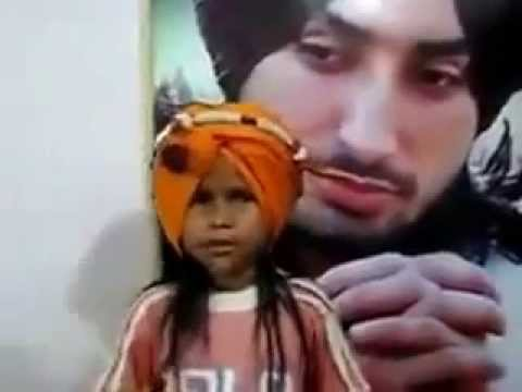 Real Sufi Real Soul -71 (  Cute Little Satinder Sartaj ) Nikki Jahi Kudi. video